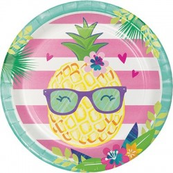 Piatto 23 cm Ananas -...